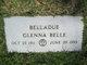 Glenna Belle <I>Wetzel</I> Belladue