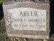 Profile photo:  Alvin J. Abler