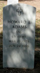 Profile photo: SSGT Howard Lewis Adams