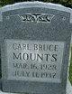 Profile photo:  Carl Bruce Mounts