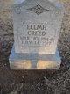 Elijah Washington Creed