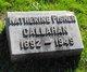 Katherine <I>Fisher</I> Callahan