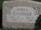 Doris Eloise <I>Darst</I> Kassinger