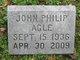 Profile photo:  John Philip Agle
