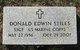 Donald Edwin Stiles