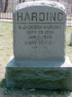 Mary <I>Benson</I> Harding
