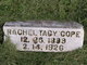Rachel Tacy <I>Mott</I> Cope