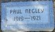 Paul Frederick Negley