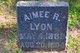 Profile photo:  Aimee R. Lyon