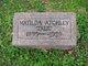 "Profile photo:  Matilda ""Tillie"" Atchley"