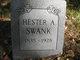 Hester Ann <I>Winner</I> Swank