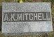 Profile photo:  A. K. Mitchell