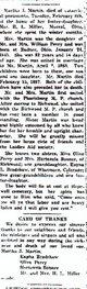 Martha Jane <I>Perry</I> Martin