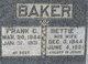 Bettie <I>Merchant</I> Baker
