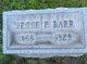 "Jesse Penny ""JP"" Barr"
