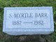 "Sarah Myrtle ""Myrtle"" Barr"
