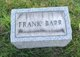 Frank Barr