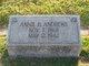 Profile photo:  Anna Bell <I>Traylor</I> Andrews