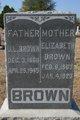 """Elizabeth Jane """"Betsy Jane"""" <I>Spencer</I> Brown"""