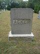 Profile photo:  Acker