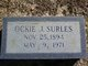 Ockie F <I>Surles</I> Jones Surles