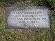 Profile photo: Pvt Earl Anderson