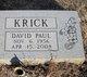David Paul Krick