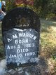 Profile photo:  A. M. Warren