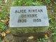 Profile photo:  Alice <I>Rinear</I> Devane