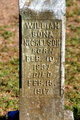 Profile photo:  William Bona Nickelson