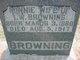 Profile photo:  Minnie <I>Moore</I> Browning