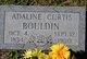 Profile photo:  Adaline <I>Curtis</I> Bouldin