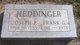 Joseph P Heddinger