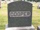 Sara <I>Zook</I> Cooper
