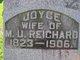 Joyce <I>Coy</I> Reichard