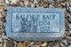 Ralph Parker Baer