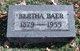 Bertha Baer