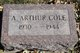 Profile photo:  A. Arthur Cole