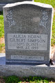 Profile photo:  Alicia Jean <I>Horne</I> Simpson