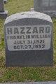 Franklin William Hazzard