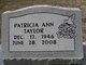 Patricia Ann <I>Edmonds</I> Taylor