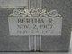 Bertha R. Adams