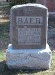 Sarah Jane <I>Ash</I> Baer