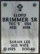Lloyd Brimmer, Sr
