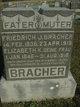 """Christina Elizabeth """"Lizzie"""" <I>Stueve</I> Bracher"""