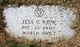 "PFC Jesse C ""Jess"" Row"