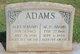 Profile photo:  Alice B <I>Smith</I> Adams