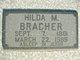 Hilda M <I>Rapp</I> Bracher