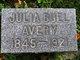 Julia Buel <I>Poor</I> Avery