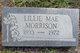 "Lillian Mae ""Lillie"" <I>Price</I> Morrison"